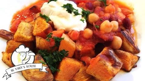 Thermomix® - vegetarisches Chili mit Süßkartoffeln
