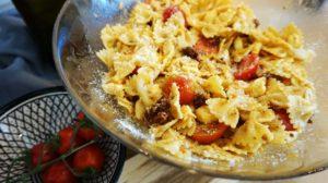 Italienischer / mediterraner Nudelsalat