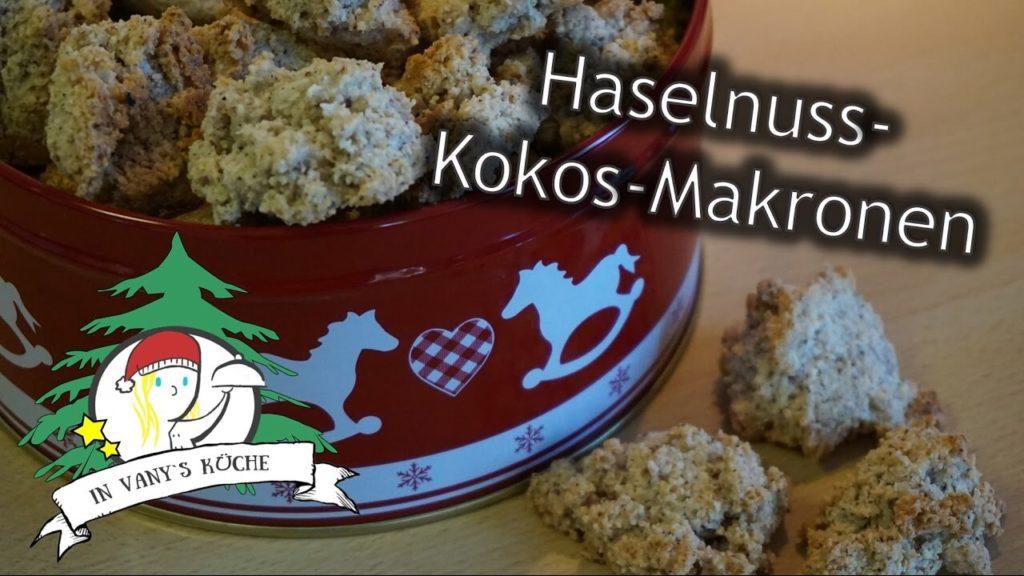 Thermomix® Haselnuss-Kokos-Makronen
