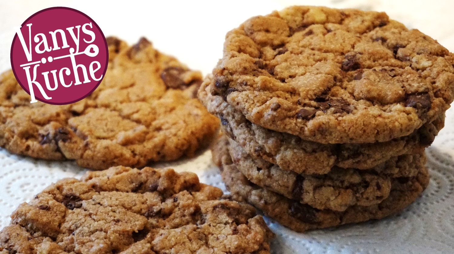 Thermomix® Chocolate Chips Cookies (vegan)