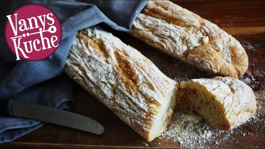 Thermomix® knusprige Baguettes