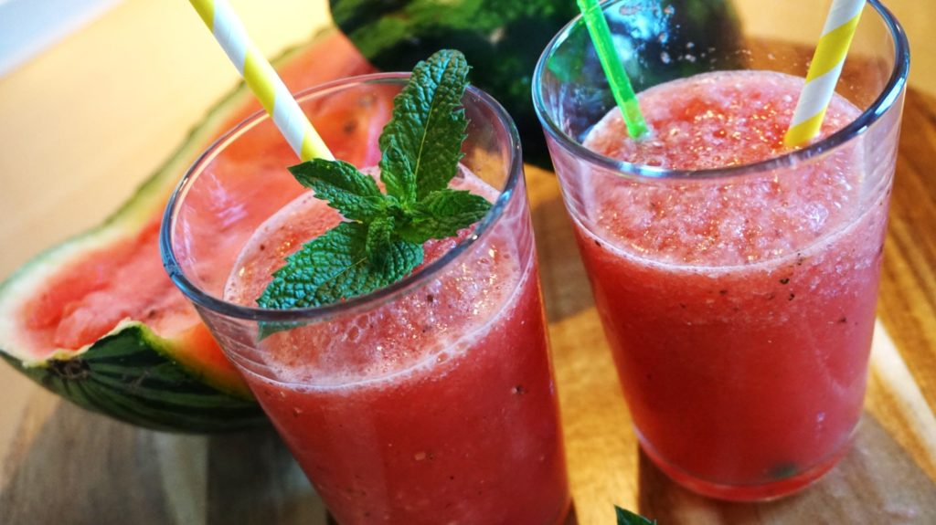 Thermomix® Wassermelonen-Slush