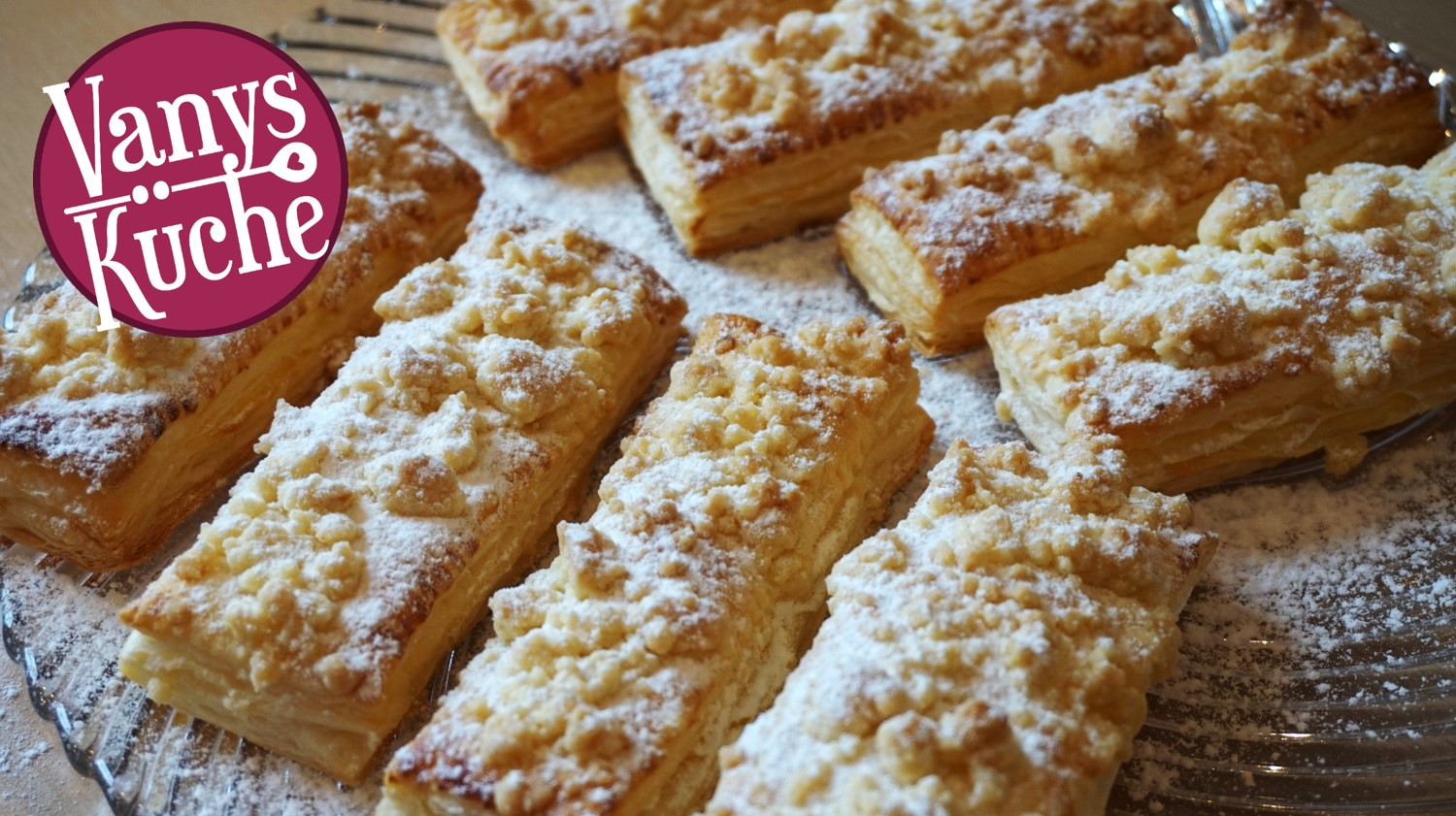 Thermomix® Pudding-Streusel-Taschen