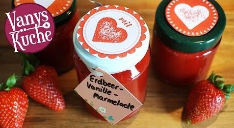 Thermomix® Erdbeer-Vanille-Marmelade