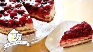 Beeren-Nougat-Crunch-Torte