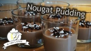 Nougat-Pudding