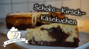 Schoko-Kirsch-Käsekuchen