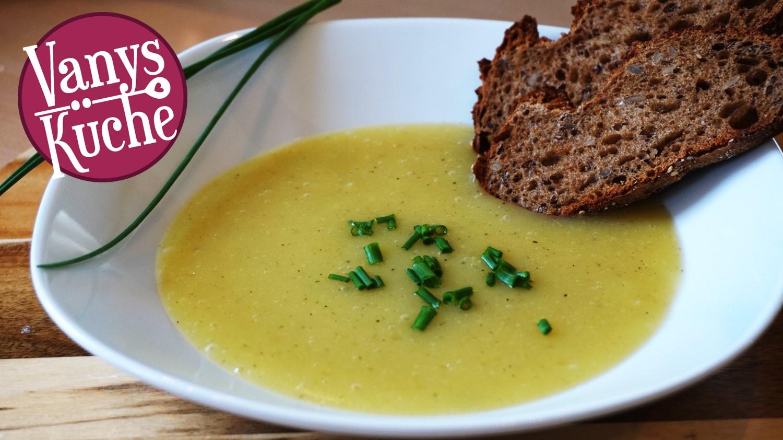 Thermomix® Kohlrabi-Kartoffel-Suppe