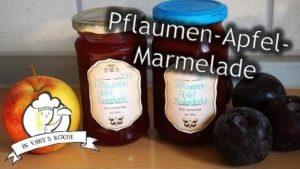 Pflaumen-Apfel-Marmelade