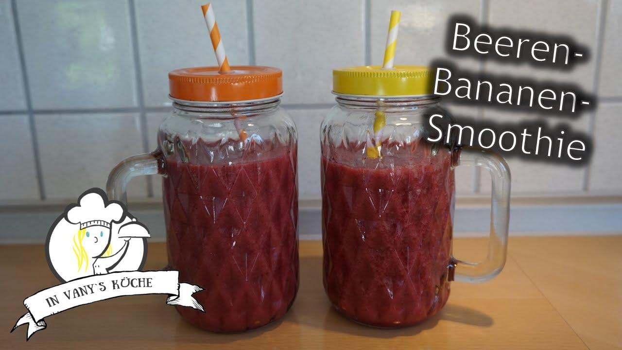 Thermomix® Beeren-Bananen-Smoothie