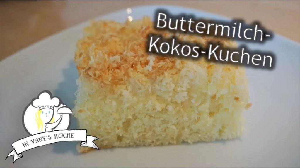 Thermomix® Buttermilch-Kokos-Kuchen