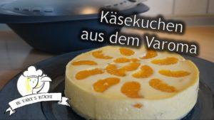 Käsekuchen (mit Mandarinchen) aus dem Varoma