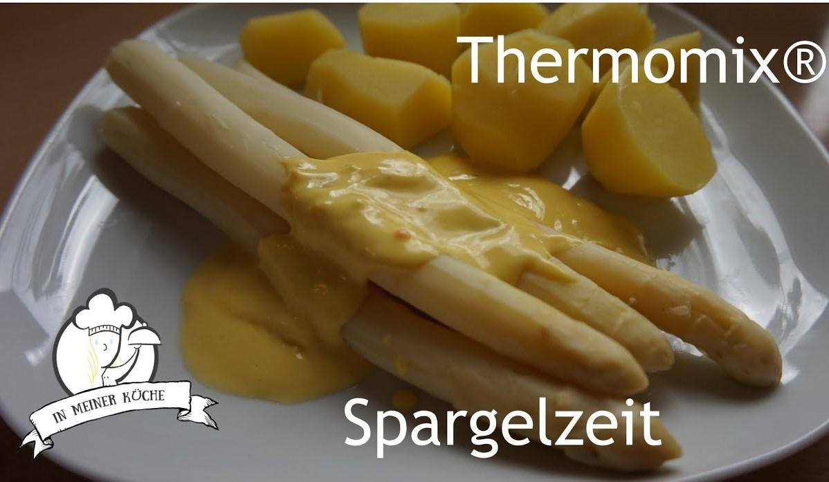Thermomix® Spargel mit Sauce Hollandaise
