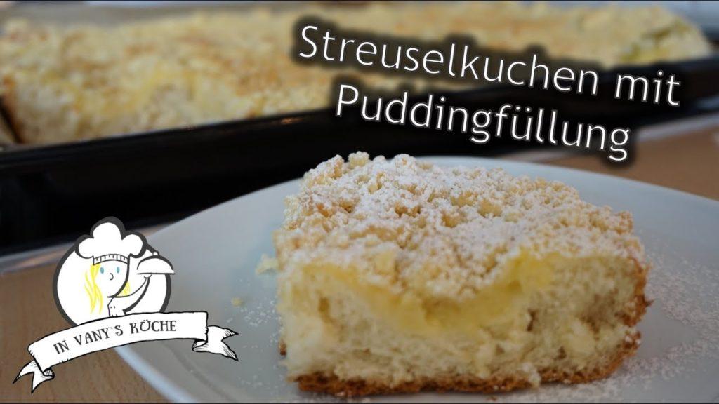 Thermomix® Streuselkuchen mit Pudding