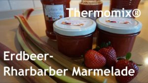 Read more about the article Erdbeer-Rhabarber-Marmelade