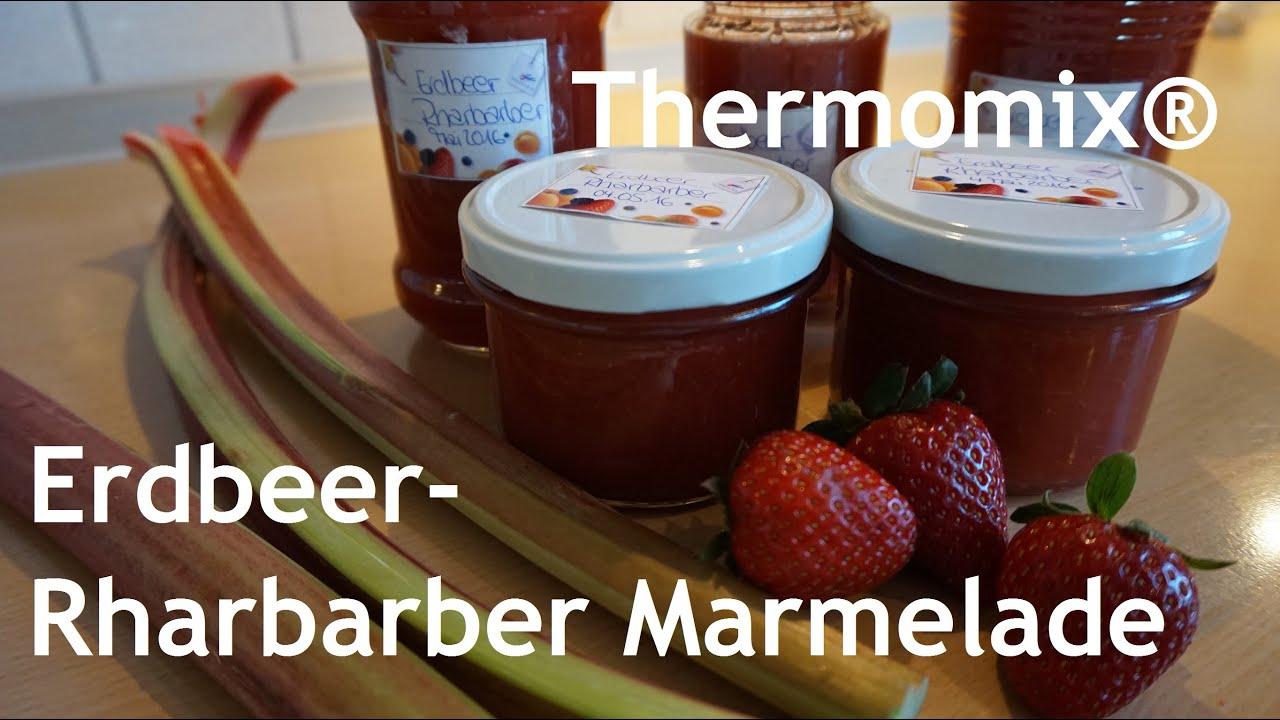 Thermomix® Erdbeer-Rhabarber-Marmelade