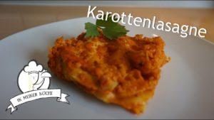 Karottenlasagne