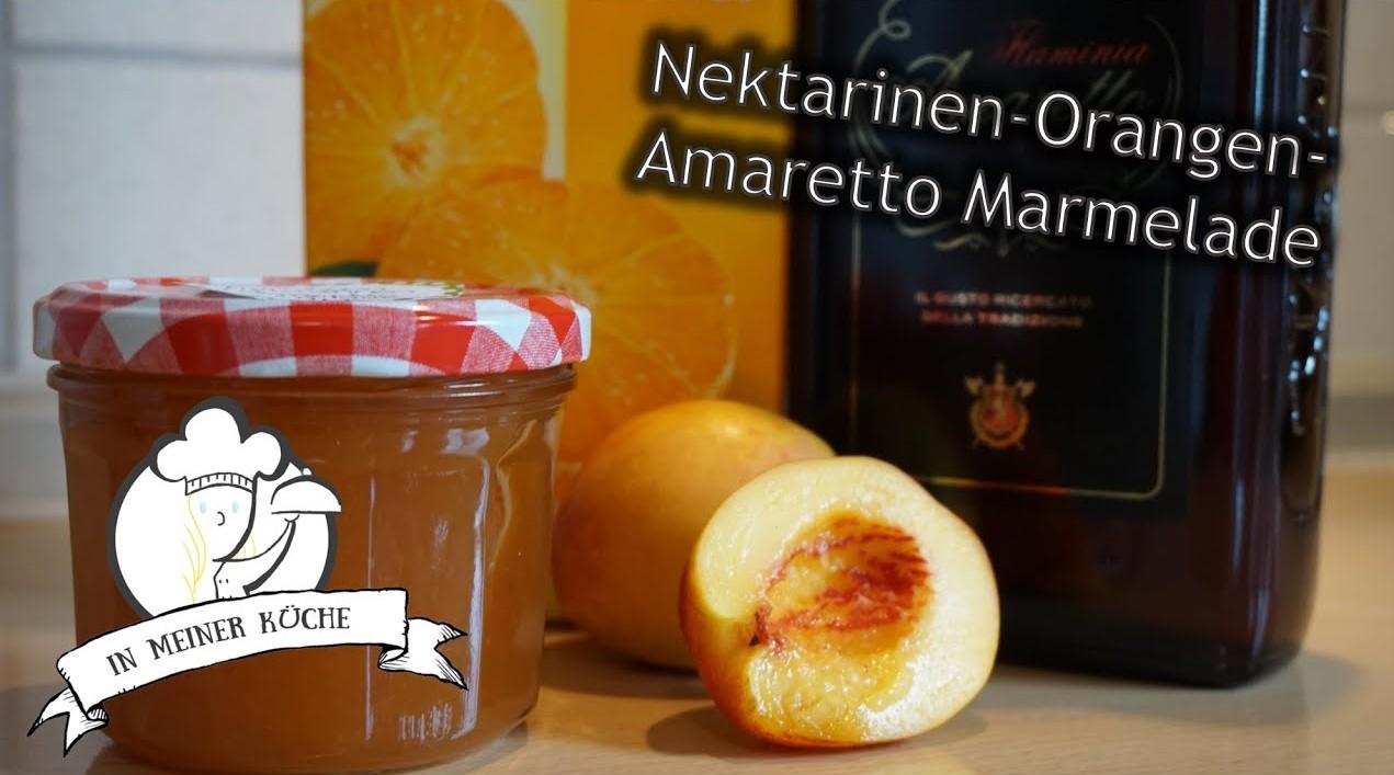 Thermomix® Nektarinen-Orangen-Amaretto Marmelade