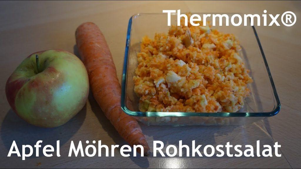 Thermomix® Apfel Möhren Rohkostsalat