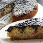 Blaubeer-Apfel-Kuchen